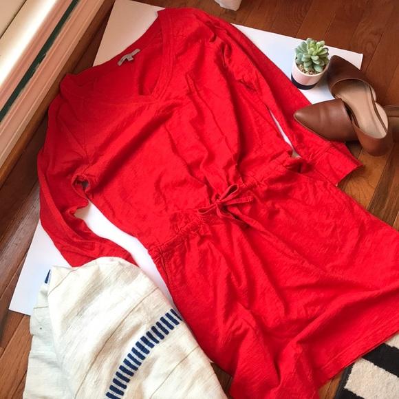 GAP Dresses & Skirts - GAP drawstring cotton dress